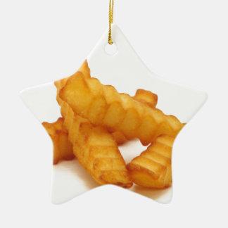 Fries Ceramic Ornament