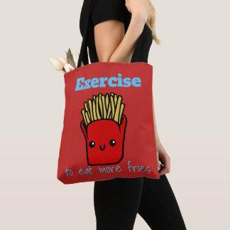 Fries emoji tote bag