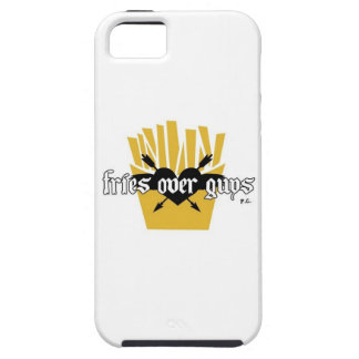 Fries Over Guys Slogan Tough iPhone 5 Case