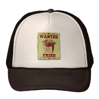 FRIES WANTED DEAD OR ALIVE CAP