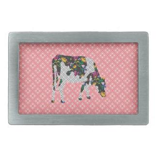 Friesian cow, Friese koe Belt Buckle