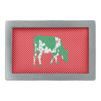 Friesian cow, Friese koe Belt Buckles