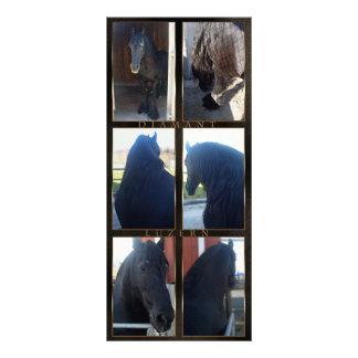 Friesian DIAMOND - Rack/Postcard Rack Card Template