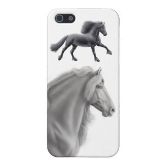 Friesian Draft Horse Speck Case iPhone 5 Case