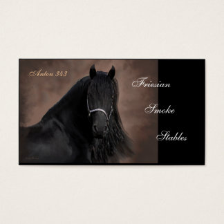 Friesian Flair Business Card