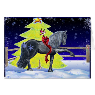 Friesian Holiday Card