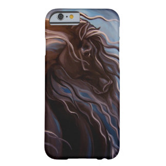 Friesian Horse Barely There iPhone 6 Case