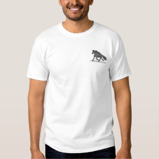 Friesian Horse Embroidered T-Shirt