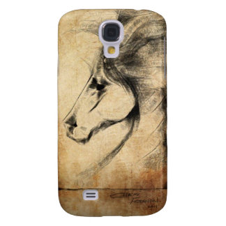 Friesian Horse Galaxy S4 Covers
