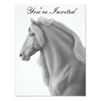 Friesian Horse Invitation