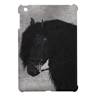 Friesian Horse iPad Mini Cover