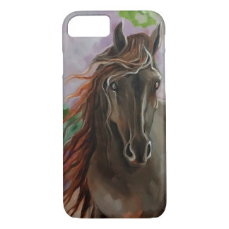 Friesian Horse iPhone 7 Case