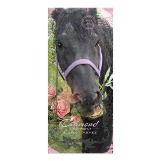 Friesian In The Fields - Rackcard Rack Card