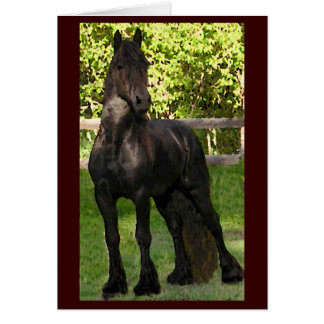 Friesian Painting Notecards Card