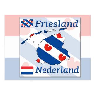 Friesland- Nederland Postcard