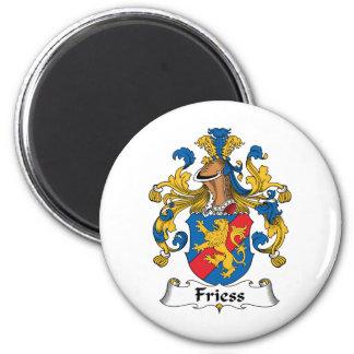 Friess Family Crest Magnet