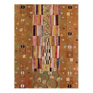 Frieze by Gustav Klimt Postcard
