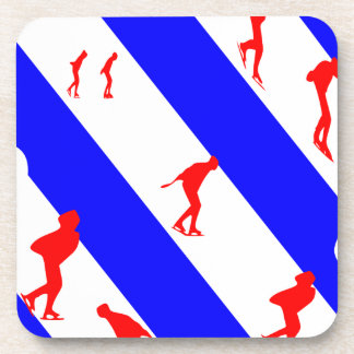 frieze country skating beverage coaster