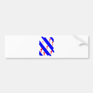 frieze country skating bumper sticker