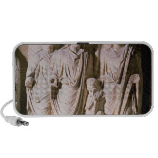 Frieze detail showing Emperors Hadrian Mini Speakers