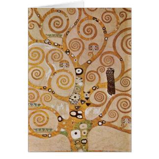 Frieze II by Gustav Klimt Greeting Card