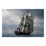 frigate racing along posters
