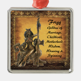Frigg Metal Ornament