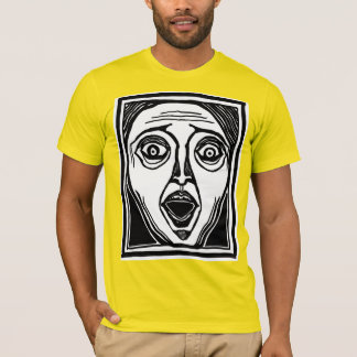 Fright Face tee by FacePrints