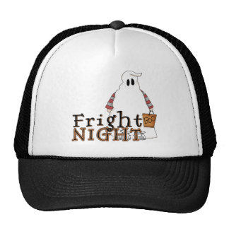 Fright Night Ghost Halloween Hat