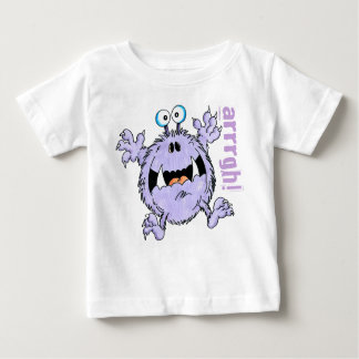 Frightened Fred Baby T-Shirt