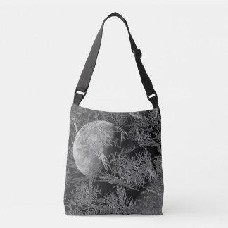 Frigid Winter's Night Photographic Art Crossbody Bag