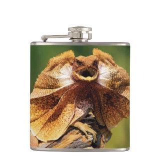 Frilled Dragon Flask