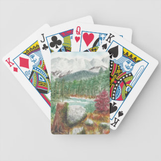 Frillensee Bavaria Bicycle Playing Cards