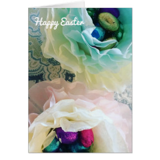 Frilly Easter Egg Cups Card