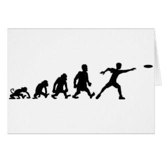 frisbee card