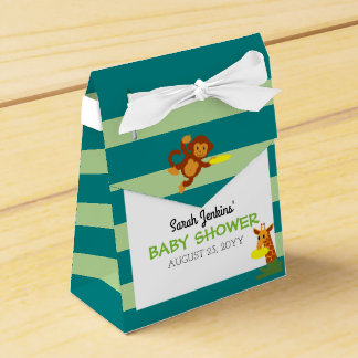Frisbee Jungle Baby Shower Favour Box