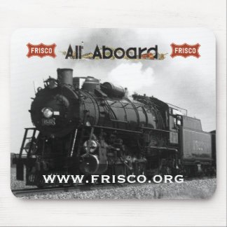 "Frisco 4-8-2 1522 ""Pride of the fleet"" Mouse Pad"