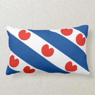 Frisia frisian flag netherlands country region lumbar pillow