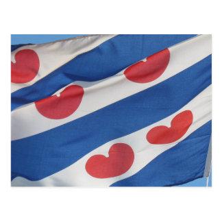 Frisian Flag (Fryslan) Post Card
