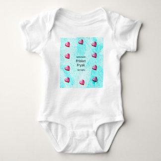 Frisian Language (Germany And Netherlands) Baby Bodysuit
