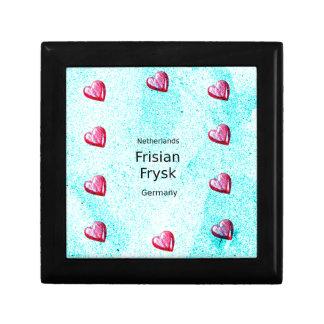 Frisian Language (Germany And Netherlands) Gift Box