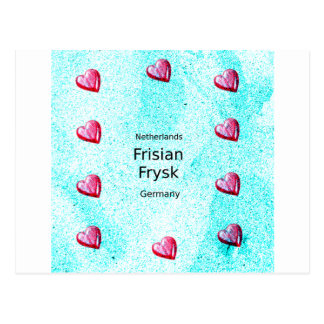 Frisian Language (Germany And Netherlands) Postcard