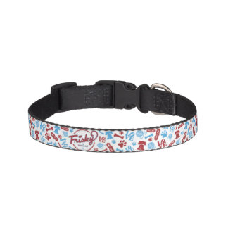 Frisky In Philly: Collage Design Dog Collar