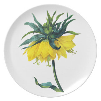 Fritillaire Imperiale ver Jaune By Pierre Joseph R Party Plates