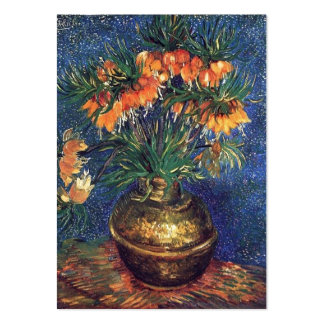 Fritillaries in a Copper Vase by Van Gogh. Business Card