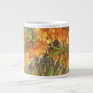 Fritillaries in a Copper Vase by Vincent van Gogh Large Coffee Mug