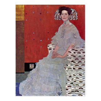Fritza Reidler Klimt by Gustav Klimt Postcard