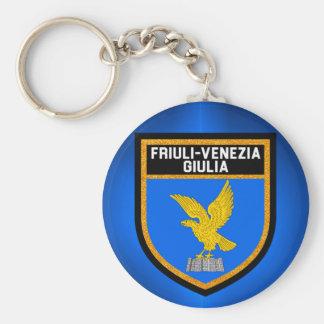 Friuli-Venezia Giulia Flag Key Ring