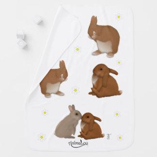 Frizzle, Luka & Robin Baby Blanket