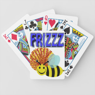 frizzz bee bicycle playing cards